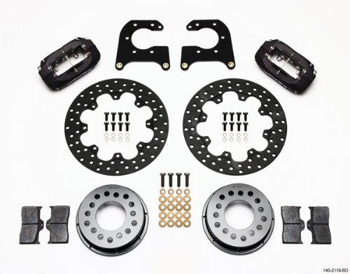 Wilwood Rear Disc Brakes (Wilwood 140-2119-BD Drag Rear Disc Brake Kit for New Big Ford)