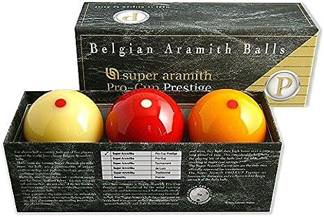 Bola de Carom Pro de Cup Prestige Super Aramith 61,5 mm ...