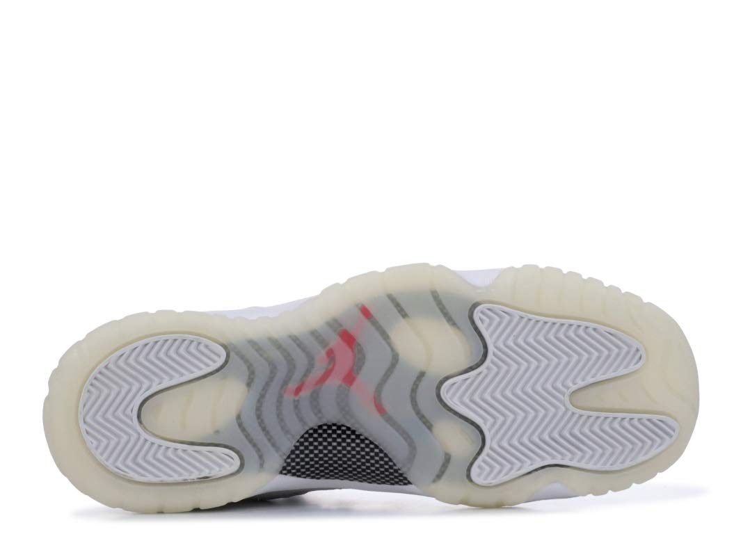 Jordan Kid's Air 11 Retro GS, Platinum Tint/SAIL-University RED, Youth Size 5 by Nike (Image #4)