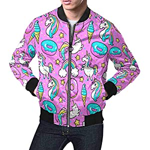 INTERESTPRINT Men's Lightweight Jacket Windbreaker 7