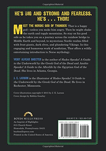 Thor Speaks!: A Guide to the Realms by the Norse God of Thunder (Secrets of the Ancient Gods) by Boyds Mills Press (Image #3)