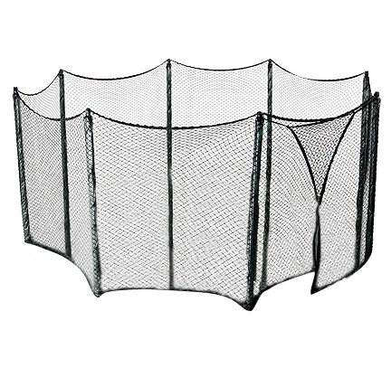 Universal Trampoline Net to Enclose a Multiple Trampoline Frames Sizes - Use for multiple amount of poles - Bungees Included! by Upper Bounce (Image #1)
