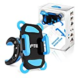 FTLL Bike Mount for Phone, Holder for iPhone 5 5s 6/ 6s plus iphone 7/7 plus Samsung Galaxy S4/5/6/7/C5/7/A3/7/5/9 Edge Note 4/5/6/7 LG G5 and 4-6 inch Smartphone