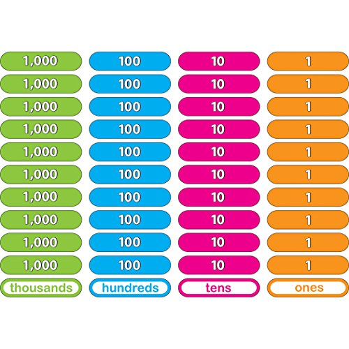 Ashley Productions ASH40031 Foam Manipulatives, Place Value Counting