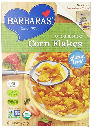 Barbara's Bakery Organic Corn Flakes Cereal, 9 oz