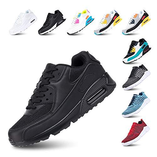 Sportschoenen Heren Sneakers Dames Hardloopschoenen Licht Fitness Wandelen Vetersluiting Luchtkussen Sneakers Gewoontjes…