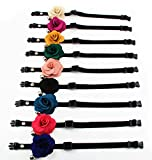 PetFavorites trade; Designer Rose Flower Suede