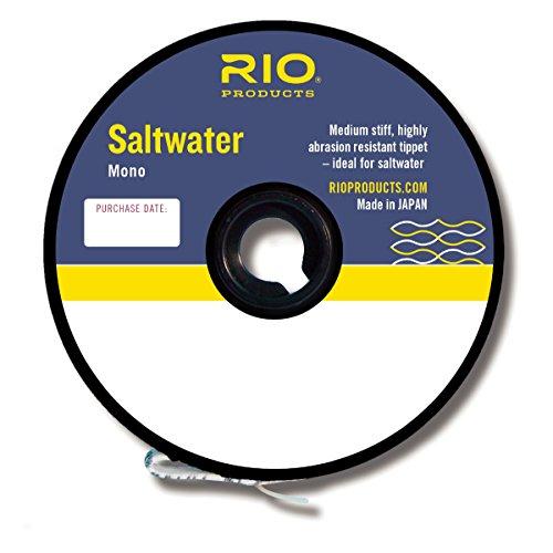 Rio Saltwater Mono Tippet 3 Pack - 30LB,40LB,50LB