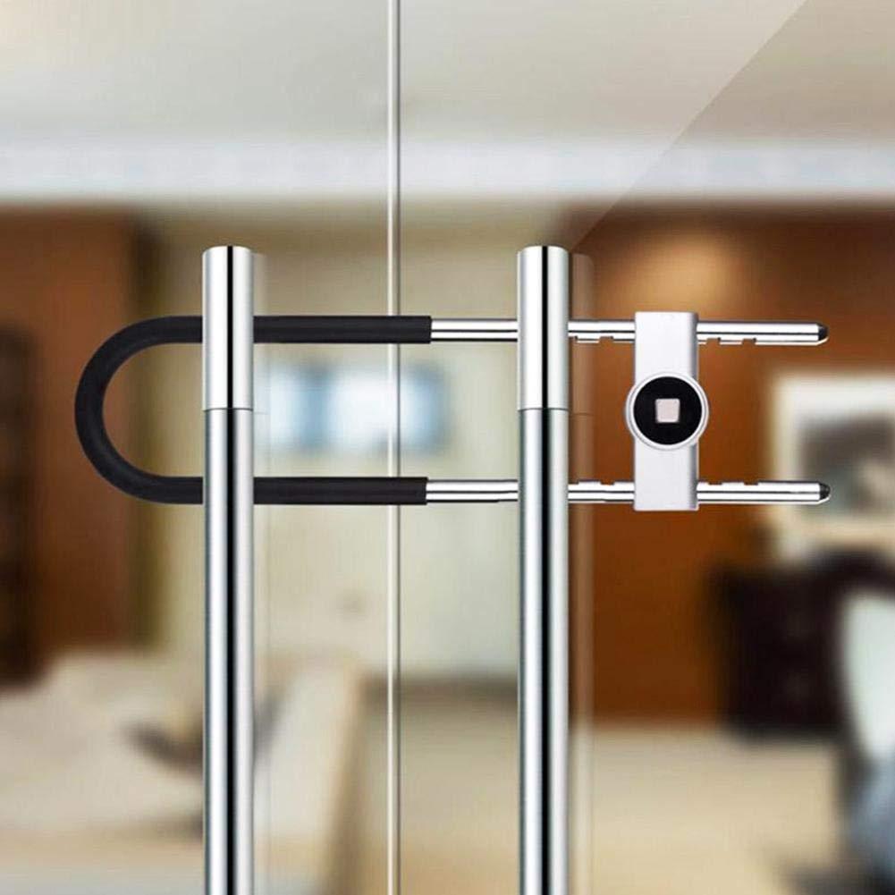 Smart Fingerprint Lock Wasserdichtes Vorhängeschloss Diebstahlsichere Tür DE