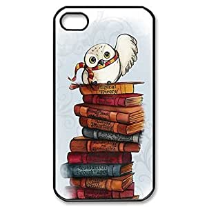 SUUER Harry Potter Owl Hedwig TPU RUBBER CASE for iPhone 5 5s case -black CASE