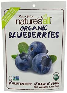 Natures All Blueberry Frz Drd Org