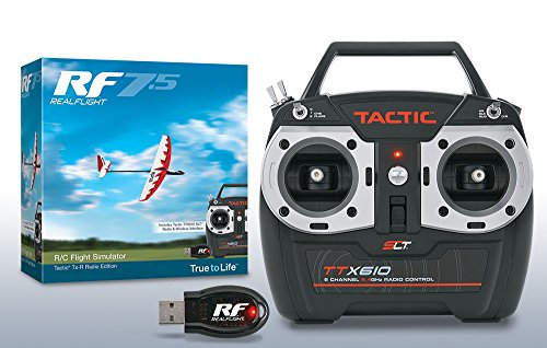 REALFLIGHT 7.5 RC QUADCOPTER FLIGHT SIMULATOR W/ TACTIC TTX610 MD 2 GPMZ4526 ,#G14E6GE4R-GE 4-TEW6W263720