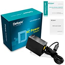 Delippo® 12V 2.58A Charger AC Adapter For Microsoft Surface Pro4 Pro 3 Charger 30W Power Supply Foldable US Plugs(5pin)[ 26 Months Warranty]