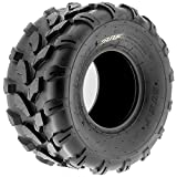 SunF A003 ATV/UTV/Lawn-Mowers Off-Road Tire 20x10-8, 6 PR, Directional Knobby Tread