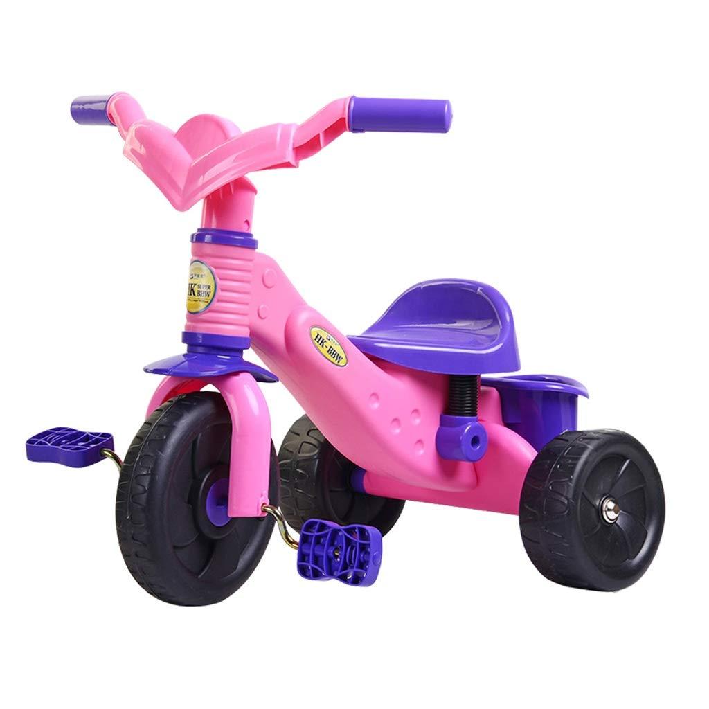 春夏新作モデル 子供自転車ベビーカーおもちゃギフト三輪車 Pink Pink B07PQXQ5YM B07PQXQ5YM, MANYOJAPAN:6bc393c7 --- senas.4x4.lt