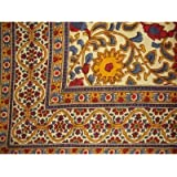 Indian Bedspread ? Cotton Sunflower Print