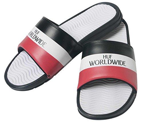 オズワルドりんご船形[HUF(ハフ)] サンダル Worldwide Slide メンズ シャワーサンダル CP00010 [並行輸入品]