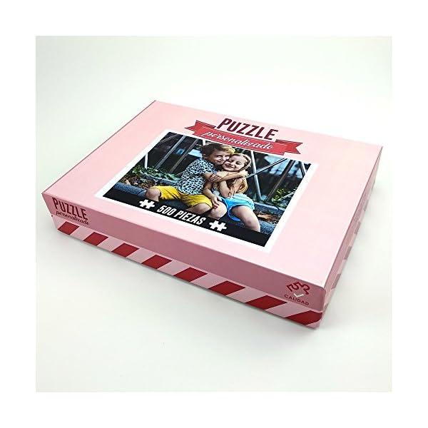 LolaPix Puzzle Bebe Personalizado. Personaliza con tu Foto. Puzzle Cartón Acabado Brillante. Varios tamaños. 9 Piezas 4