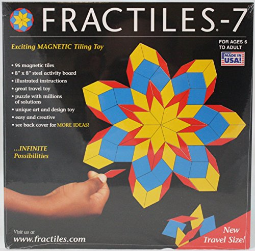 Fractiles: Travel Version - Magnetic Tiling Toy