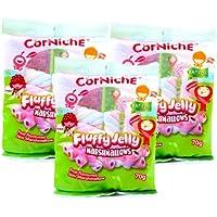 Cor Niche可尼斯 水果味酱夹心棉花糖70g*3(菲律宾进口)