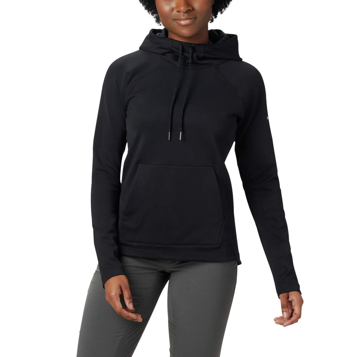 Columbia Women's Bryce Canyon Hoodie, Black, Black Heather, 3X by Columbia