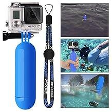 XCSOURCE® Monopod Diving Floaty Floating Hand Grip Handle + Screw + Wrist Strap Accessory Float For Gopro Hero 2 3 3+ 4 SJ4000/SJ5000 Blue OS98