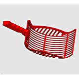 Kitty Litter Scoop – Grated Litter Pan Cat Pooper Scooper – Eco-Safe, Durable, Top Rated Litter Scoop