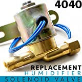 ALPINE HARDWARE 4040 Replacement Humidifier Valve for Whole House Humidifiers Compare to Part No. 4040 | 24 Volts | 2.3 Watts | 60 HZ