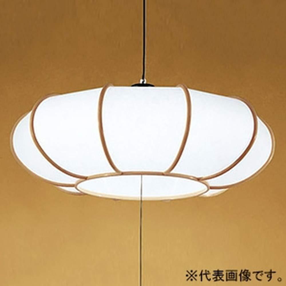 ODELIC オーデリック 和風LEDペンダントライト フレンジ ランプ一体型 ~8畳 段調光 電球色 OP252176P1 B00L327VEW