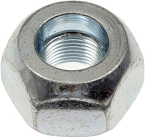 Dorman 611-0052.25 イエロージンク 1 1/8インチ - 16 ホイールナット 標準 1 1/2インチ 六角形、1.13インチ。 長さ、10個パック。