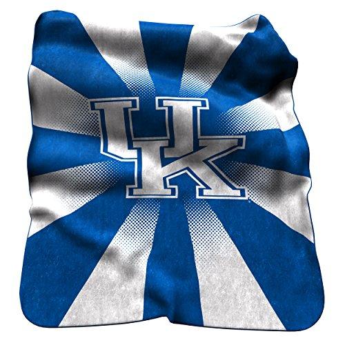 NCAA Kentucky Wildcats Raschel Throw Blanket