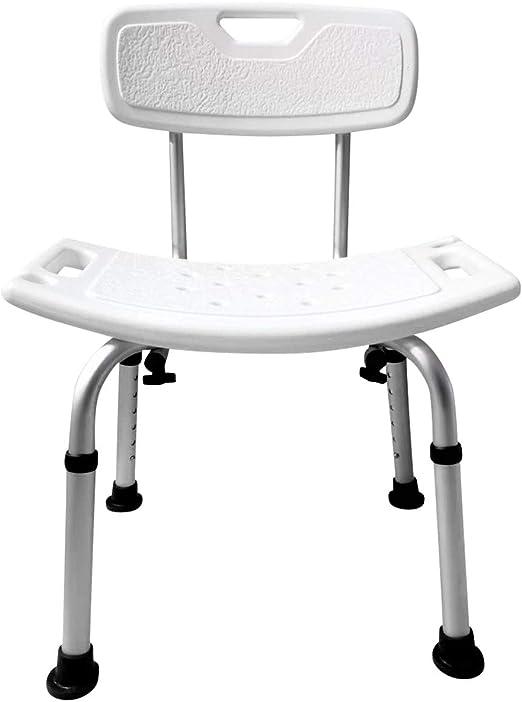 shower chair-Silla Ducha Aluminio Ayuda Baño Taburete Banqueta ...