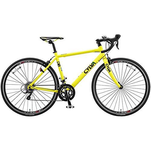 ブリヂストングリーンレーベル(BRIDGESTONE GREEN LABEL) ロードバイク CYLVA(シルヴァ) D18 F.ネオンイエロー 390mm D18396 B0179IFV2W