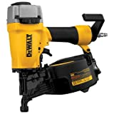 DEWALT DW66C-1 2-1/2 Inch 15 Degree Coil Siding and Fencing Nailer