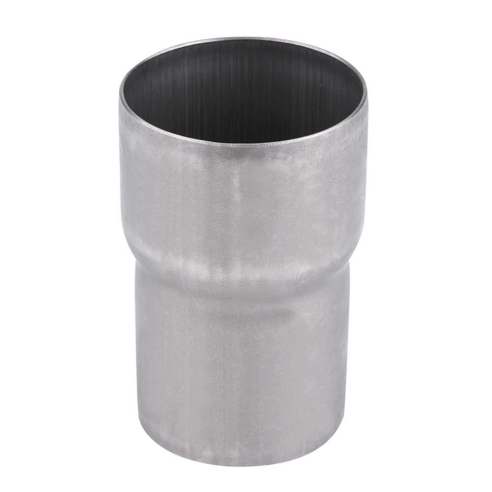 Fydun Adaptador de tubo de escape de acero inoxidable de 51 mm a 60 mm Reemplazo de conexi/ón de silenciador de reducci/ón de motocicleta