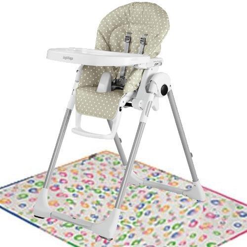Peg Perego Prima Pappa Zero 3 with Splat Matt - Babydot (Prima Pappa High Chair)