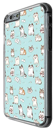 1267 - Cool Fun Trendy cute kitten cat feline pets dog puppies collage animals playful Design iphone 5 5S Coque Fashion Trend Case Coque Protection Cover plastique et métal - Clear