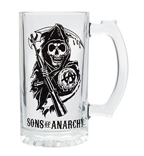 Sons Of Anarchy Logo Beer Mug by Sons of Anarchy