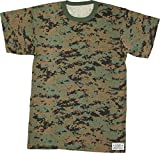 Army Universe Woodland Digital Camouflage Short Sleeve T-Shirt with Pin - Size 2X-Large (49'-53')