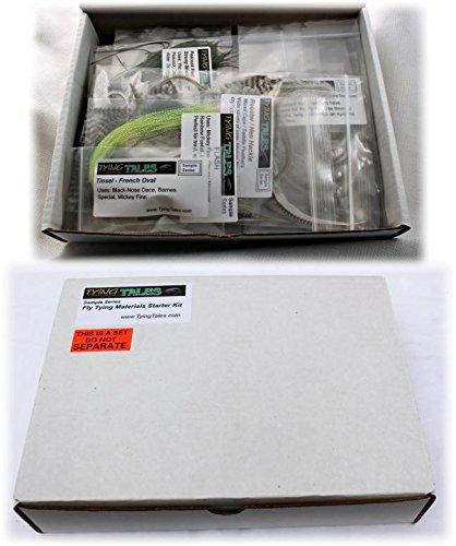 Fly tying materials starter kit masterbasser for Fly fishing starter kit
