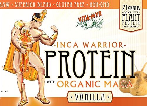 VANILLA INCA WARRIOR PROTEIN w/Organic Maca 16