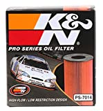 K&N PS-7014 Pro Series Oil Filter, Single
