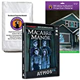 AtmosFEARfx Macabre Manor Halloween Digital Decoration DVD with Hollusion (W) + Reaper Bros Window Projection Screens