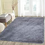 #10: Noahas Super Soft Modern Shag Area Rugs Fluffy Living Room Carpet Comfy Bedroom Home Decorate Floor Kids Playing Mat