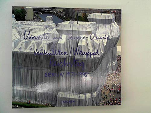 Christo and Jeanne-Claude: Wrapped Reichstag, Berlin, 1971-1995 (Jumbo)