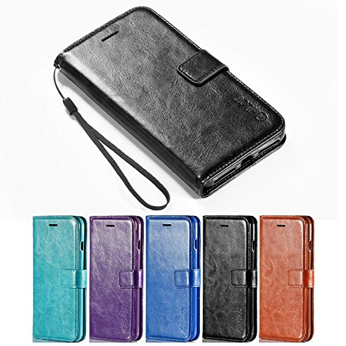 iPhone 7 Plus Case, [5.5 Inch] HLCT PU Leather Case, With Soft...