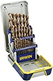 Irwin Tools 3018006B 29 Piece Industrial Drill Bit Set Case with TurboMax Bits