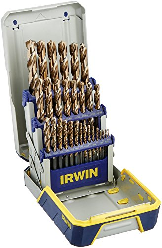 IRWIN Tools 29 Piece Industrial Drill Bit Set Case with TurboMax Bits (3018006B)