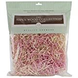 Quality Growers QG1666RC Aspenwood Excelsior Wood Craft Supplies, 328 Cubic Inch, Pink and Natural
