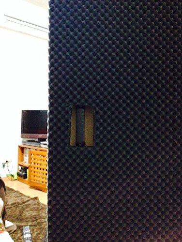 SOOMJ Studio Sound Acoustic Absorption Car Heatproof Foam Deadener 15.7''x39.4'' 4.3sqft by SOOMJ (Image #1)